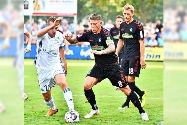 SC Freiburg verliert Testspiel gegen Straßburg