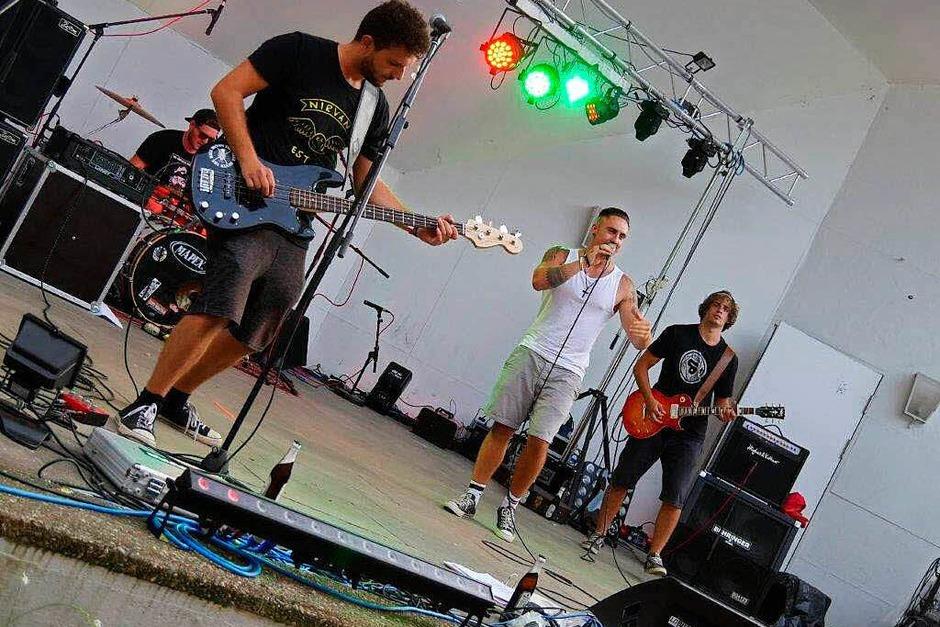Musiker und Besucher hatten viel Spaß beim Beat-&-Bite-Festival in Bad Säckingen.