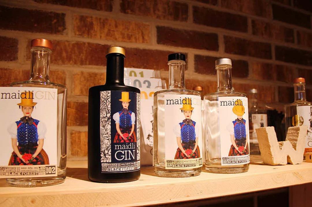 """Der Maidli-Gin soll keinen """"Kopf"""" am nächsten Morgen machen.     Foto: Anna Lob"""