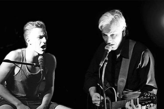 Open-Air-Konzert mit Henning und Luca Lehmann in Lahr