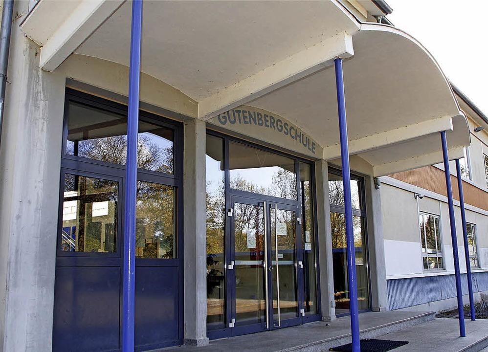 Sanierungsfall Gutenbergschule.  | Foto: H. Fössel