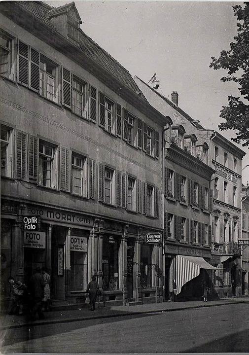 Unterlinden nach Südwesten, am linken ...uth Groß-Albenhausen im Jahr 1943/44.     Foto: Stadtarchiv/Ingo Schneider