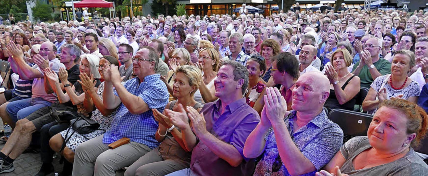 Applaus, Applaus: Die Besucher waren hingerissen     Foto: Hans-Peter Müller