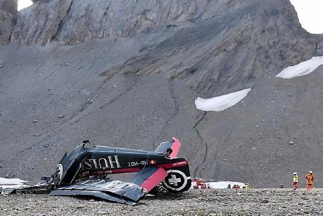 Ju 52 in Schweizer Alpen abgestürzt