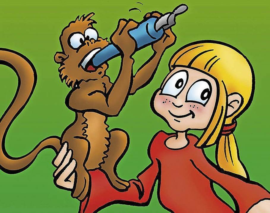 Im riesigen Exotenhaus bewegen sich Tiere, etwa Affen, frei.    Foto: Badische Zeitung