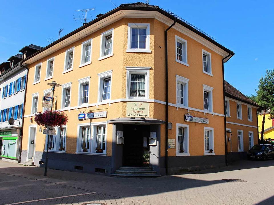 Das Gasthaus Dreikönig in der Hauptstr...hr ist seit dem 1. August geschlossen.  | Foto: Hansjörg Bader