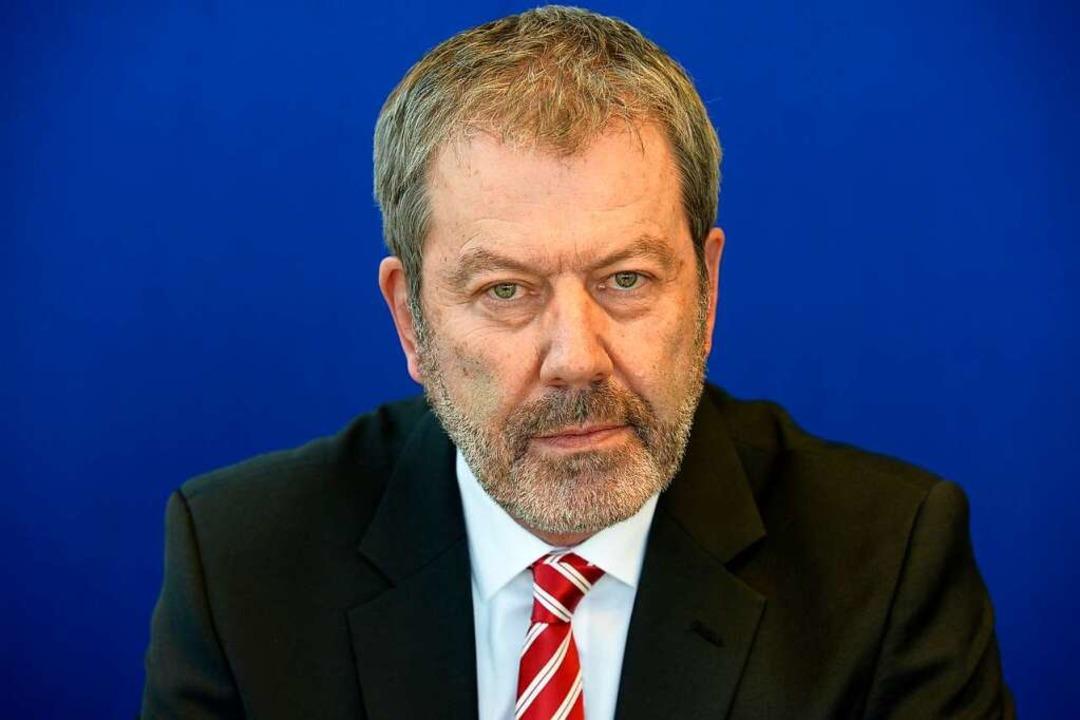 Peter Egetemaier ist Chef der Freiburger Kriminalpolizei  | Foto: Ingo Schneider