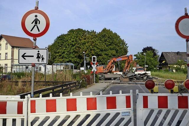 Endstation Bahnübergang