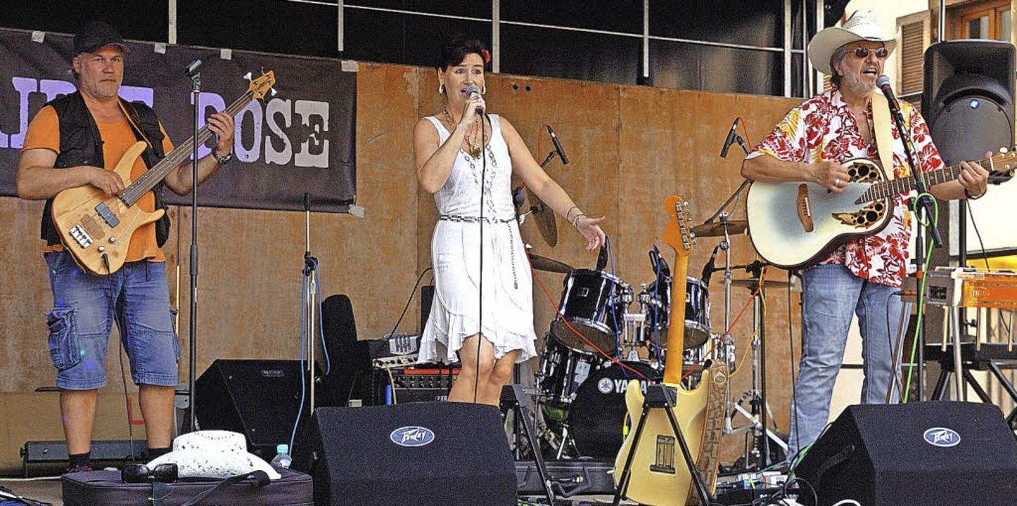 Prairie Rose mit Sängerin Suzanne Nopper begeisterte in Endingen.   | Foto: J. Schweizer