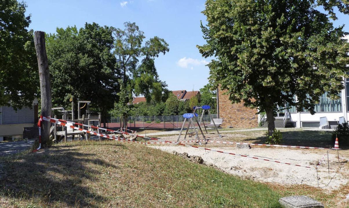 Kinder und  Eltern ärgern sich über de...rgarten und der Schule in Gündlingen.     Foto: Christine Weirich