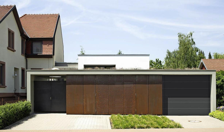 Ins Umfeld eingebunden: Haus in Kenzingen  | Foto: Walter Hess/S.K.U.B.