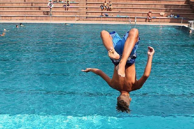 Die Bilanz der Lahrer Schwimmbäder kann sich sehen lassen