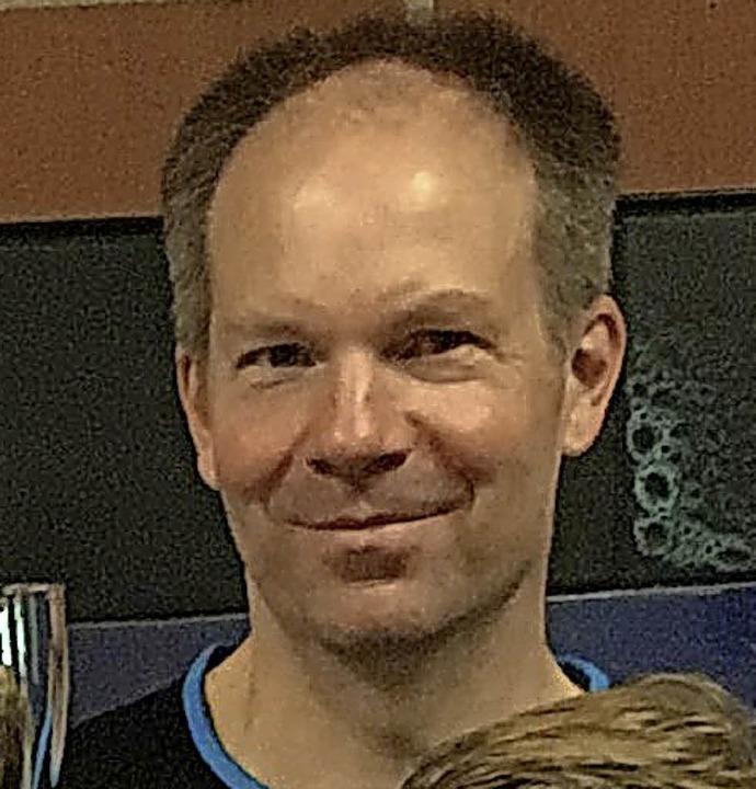 Carsten Kuck gewann das Speckbrettturnier.   | Foto: Hansjörg Bader