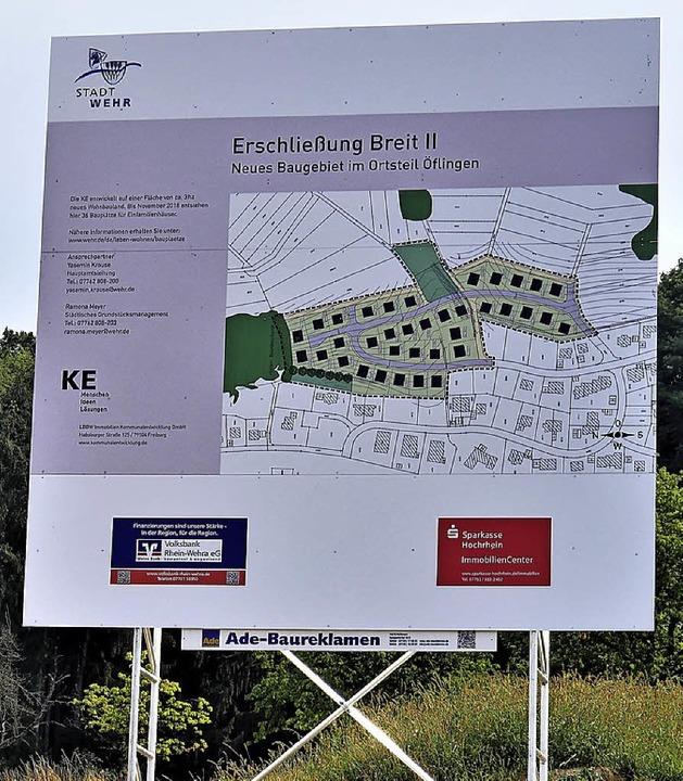 Derzeit wird das Baugebiet Breit II in...dort die ersten Eigenheime entstehen.     Foto: Jörn Kerckhoff