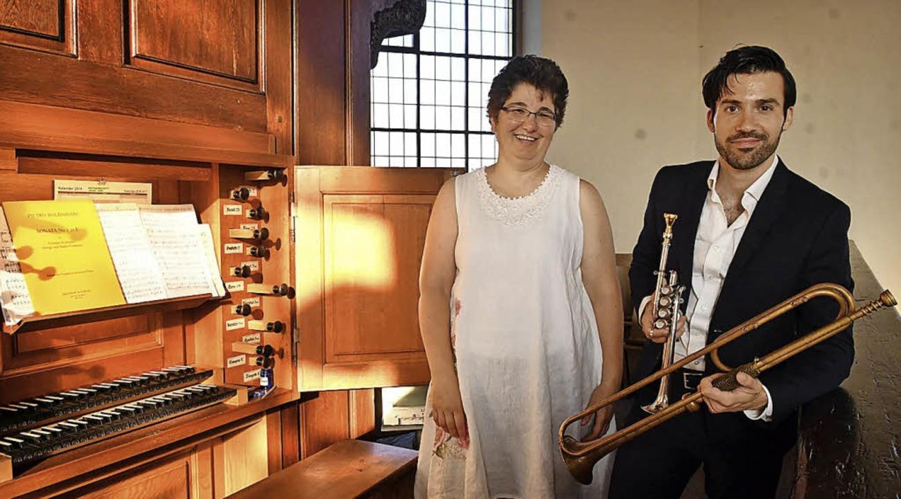 Susanne Moßmann und Alexander Sauer     Foto: Wolfgang Künstle