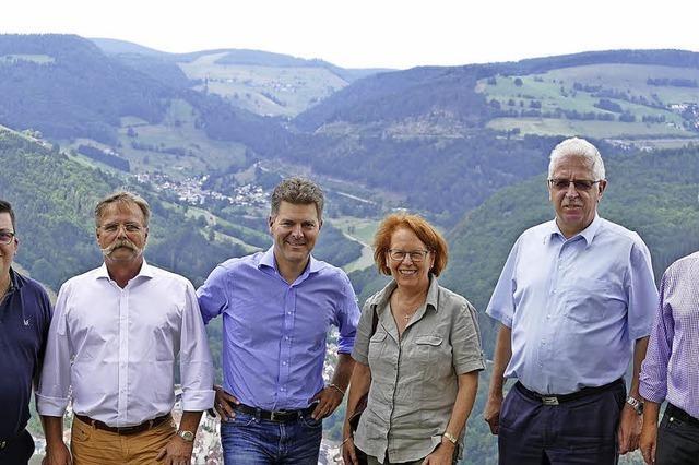 Wahlkreisbesuch auf der Hasenhorn-Rodelbahn