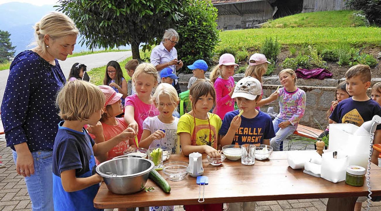 <BZ-FotoAnlauf>Naturparkschule:</BZ-Fo...et für die Grundschüler ist eröffnet.   | Foto: Gudrun Gehr