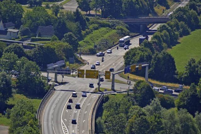 Ausbauten an der B 317 fest im Blick