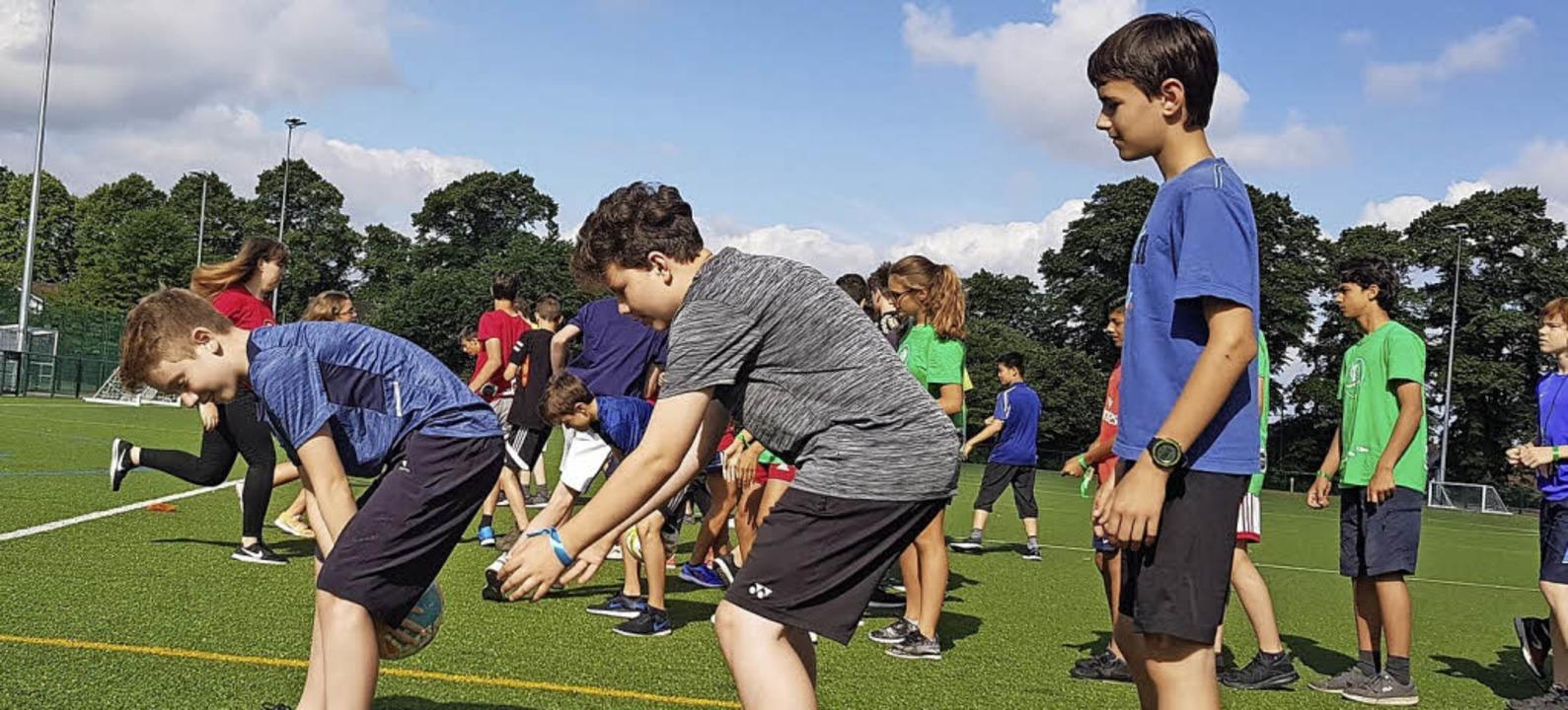 Geschicklichkeit ist bei den   Jugendspielen gefragt.   | Foto: Stadt Lörrach