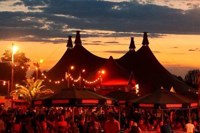 ZMF-Chef Marc Oßwald will ein Zelt für 4000 Fans