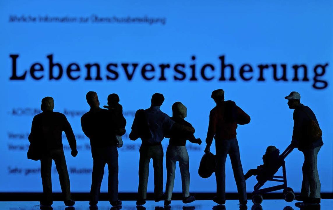 In Deutschland eine verbreitete Geldanlage: die Kapitallebensversicherung  | Foto: DPA
