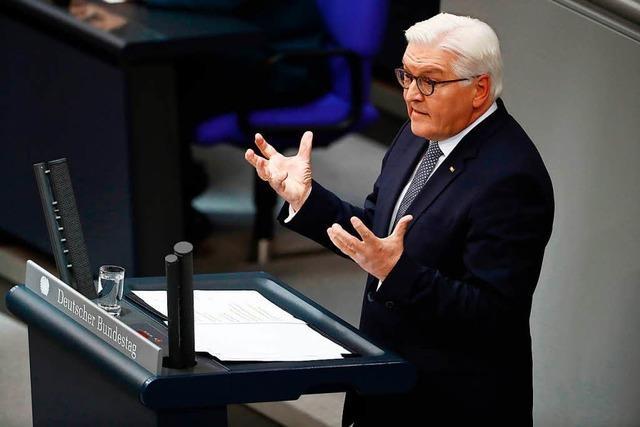 Bundespräsident Steinmeier und seine wichtigen Reden
