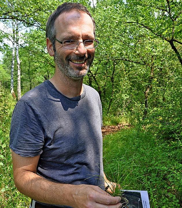Der Biologe Oliver Karbiener   | Foto: Jutta Schütz