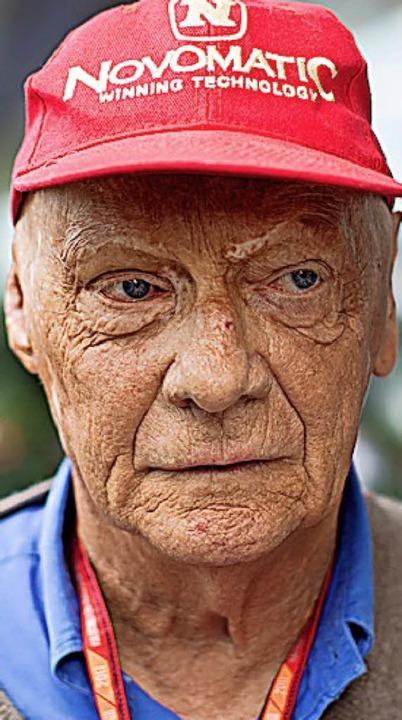 Niki Lauda    Foto: dpa