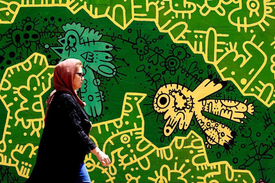 Der Iran steckt in einer tiefen Krise.    Foto: AFP