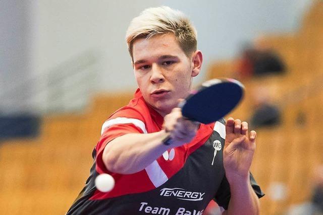 Tom Eise – ein Weiler Tischtennistalent auf dem Sprung in Liga zwei?