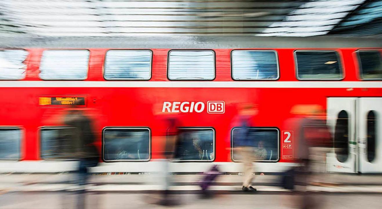 Auf der Strecke zwischen Offenburg und...reignete sich der Unfall. (Symbolbild)  | Foto: dpa