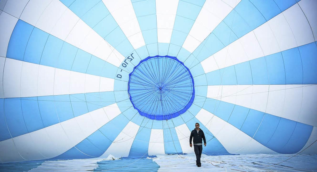 Ballonfahrten werden am Samstag und Sonntag angeboten.  | Foto: Stadt Müllheim/Tourismus