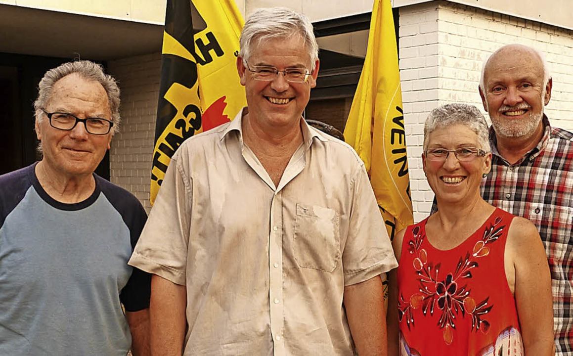 Das neue Vorstandsteam  der BI Weiswei... Schmidt, Anna Haag und Bernd Nössler.  | Foto: Christel Hülter-Hassler