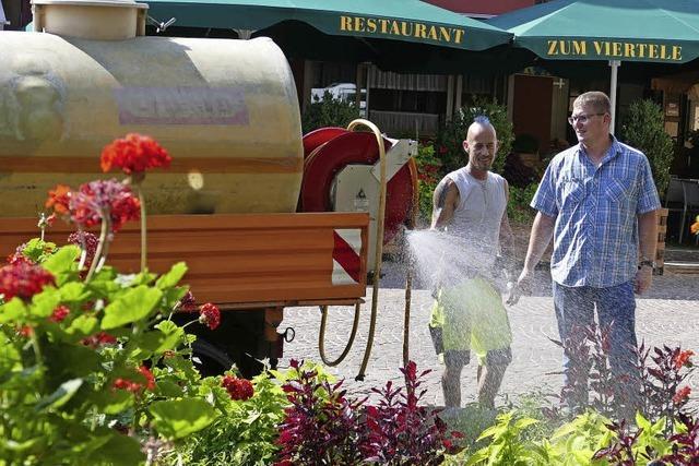 30 000 Liter Wasser pro Tag für die Pflanzen