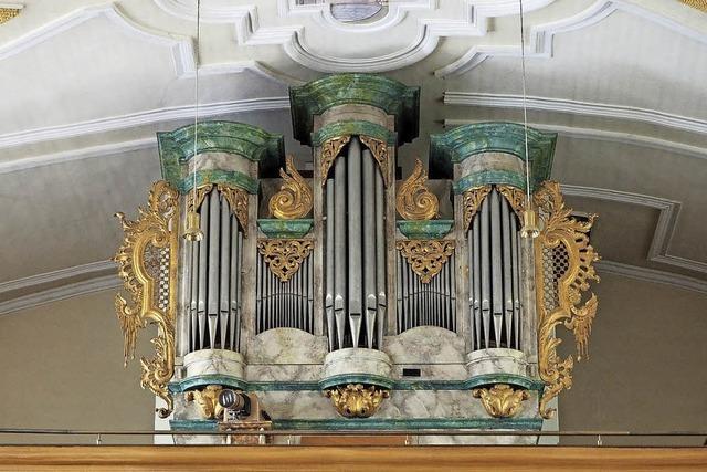 So prächtig sind die Orgeln der Baar