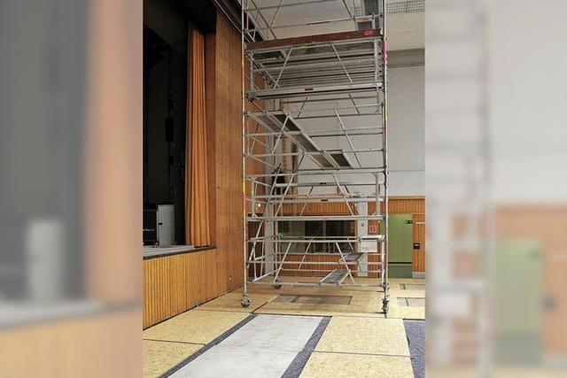 Regelmäßige Sanierung erhält die Halle
