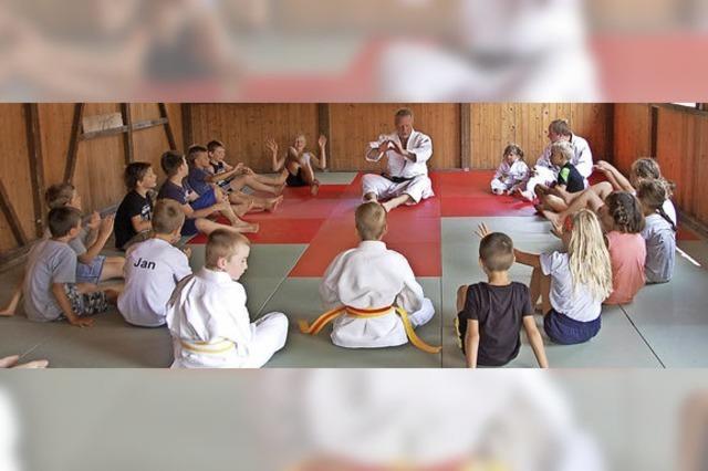 Kindern den Judosport schmackhaft gemacht