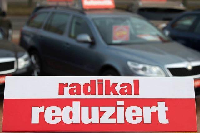 Haftstrafe für Autohändler aus dem Raum Freiburg