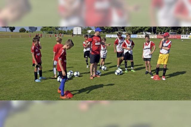 Trainer wollen Spaß am Fußballspiel vermitteln