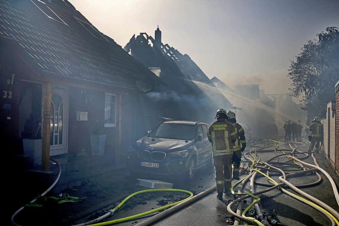 Brand in Siegburg  | Foto: dpa