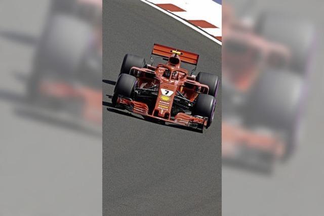 Ferrari rast allen Nobelautobauern davon