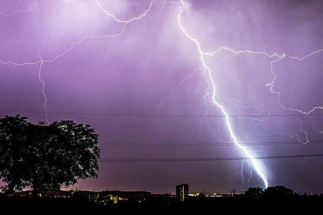 Stromausfall nach Blitzeinschlag