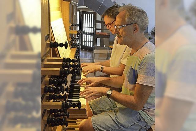 Orgel erklingt samstags zur Marktzeit