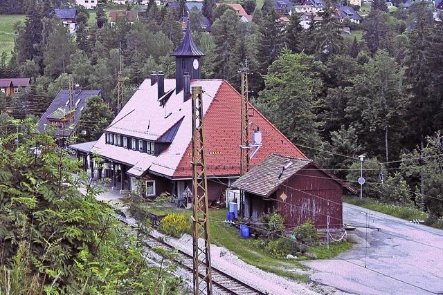 Neue Pläne für den Bahnhof Bärental