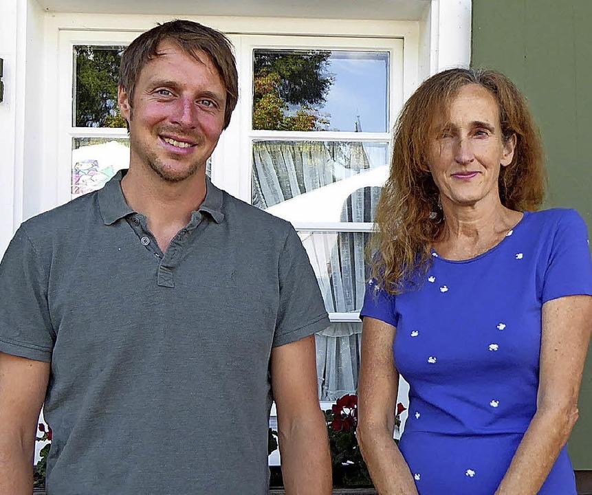 Mathias Schulz und Silvia Geisslreither von der Beratungsstelle.   | Foto: Ute Kienzler