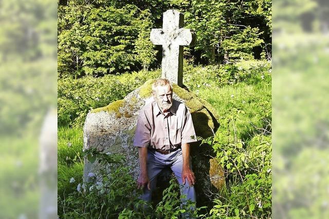Ein Lebensweg endet beim Sühnekreuz nahe Schönenbach