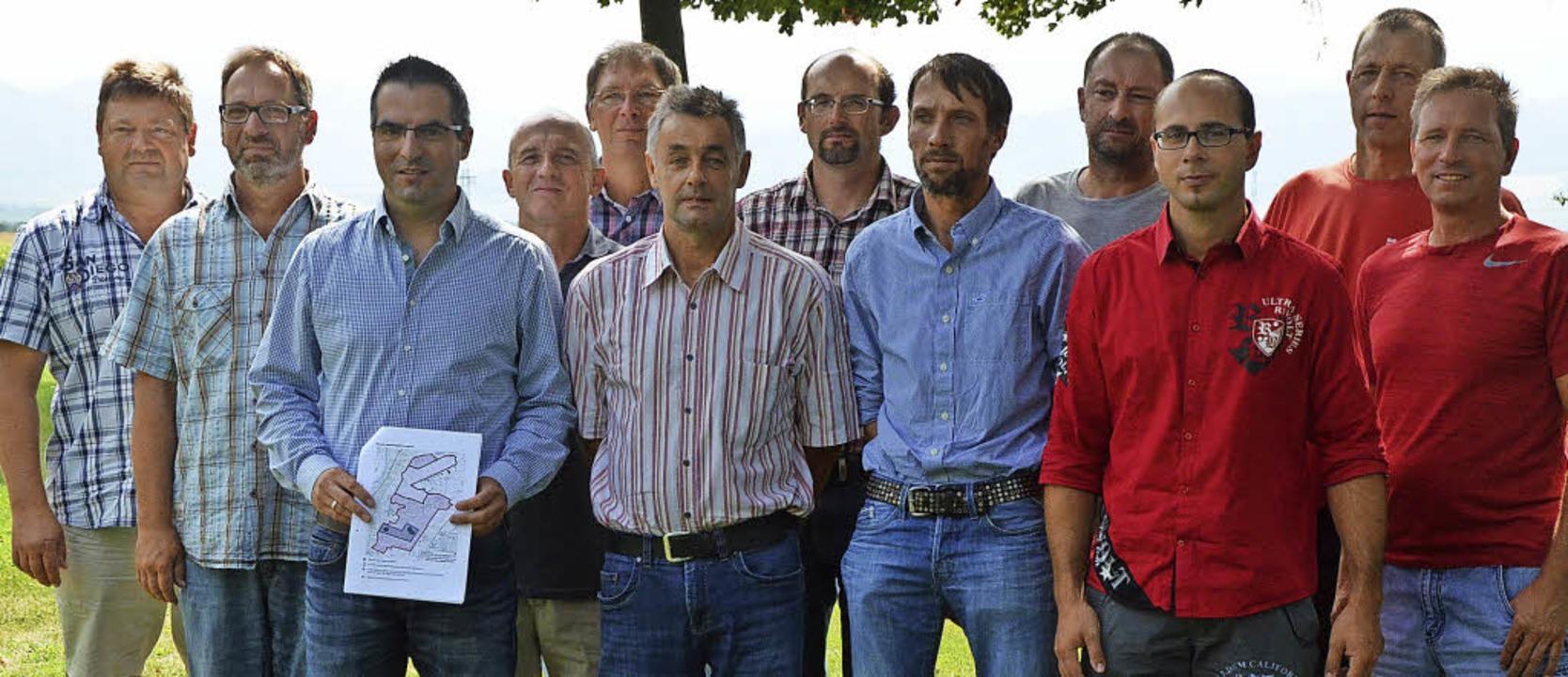 Diese zwölf Landwirte klagen stellvert...ung des Vogelschutzgebiets Bremgarten.  | Foto: Fedricks Zelaya/fotolia.com