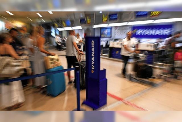 Bei Ryanair fallen am Freitag viele Flüge aus