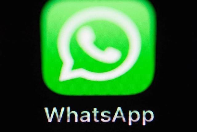 Sicherheitslücke bei Whatsapp