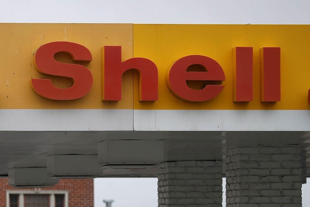 Die Shell-Tankstelle machte pünktlich zu. (Symbolbild)  | Foto: AFP